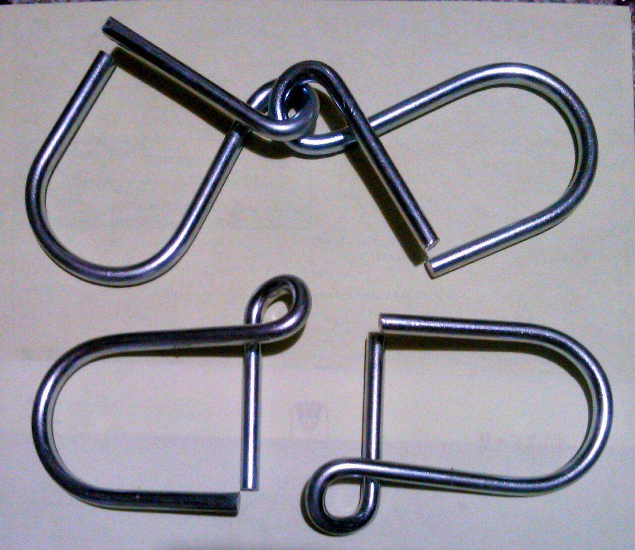 گره فلزی qD(بدون بسته بندی تکی ودرجعبه۶۰عددی برای فروش مغازه-جایزه)