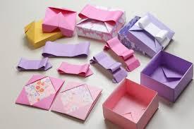 اوریگامی ساخت جعبه کادوئی