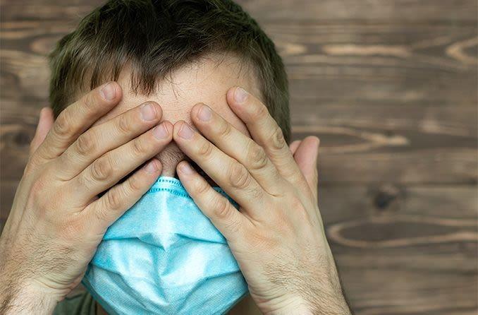 محافظت ویروس کرونال ماسک